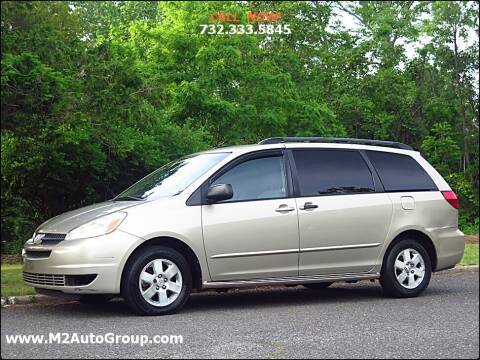 2004 Toyota Sienna for sale at M2 Auto Group Llc. EAST BRUNSWICK in East Brunswick NJ