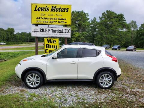 2014 Nissan JUKE for sale at Lewis Motors LLC in Deridder LA
