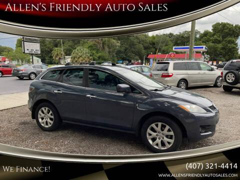 2008 Mazda CX-7 for sale at Allen's Friendly Auto Sales in Sanford FL
