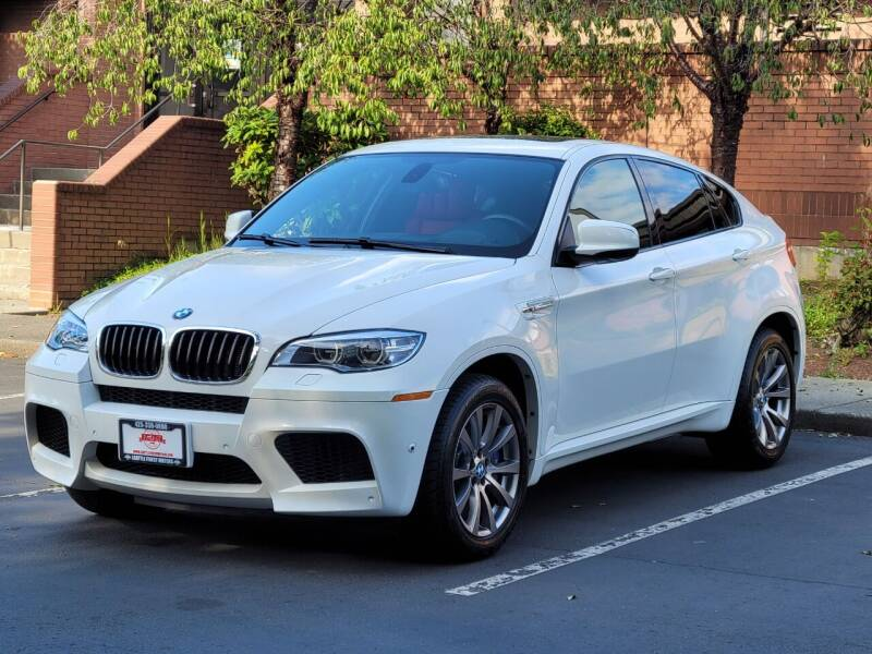2014 BMW X6 M for sale at SEATTLE FINEST MOTORS in Lynnwood WA