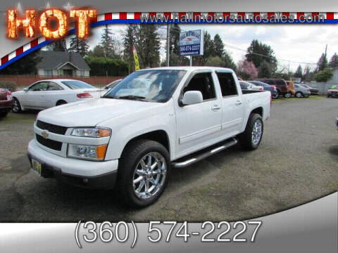 2011 Chevrolet Colorado for sale at Hall Motors LLC in Vancouver WA
