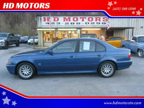 2003 BMW 5 Series for sale at HD MOTORS in Kingsport TN