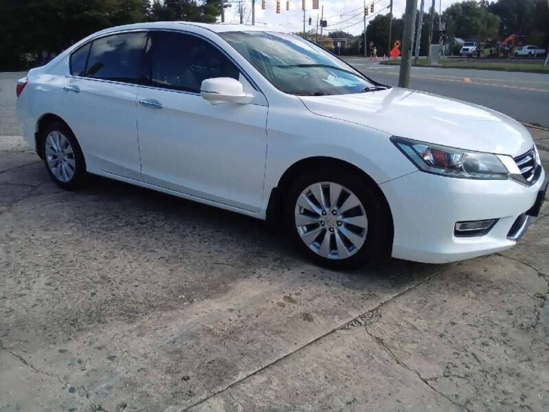 2013 Honda Accord for sale at HWY 49 MOTORCYCLE AND AUTO CENTER in Liberty NC