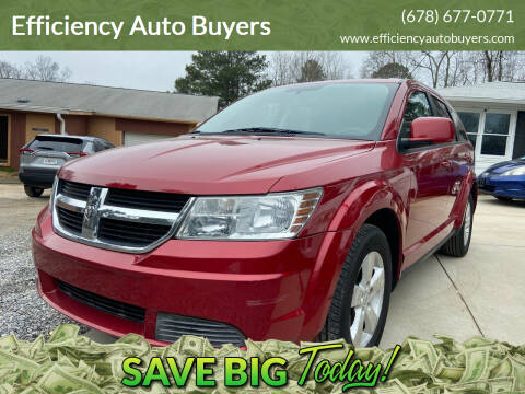 2009 Dodge Journey for sale at Efficiency Auto Buyers in Milton GA
