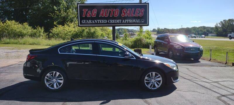 2014 Buick Regal for sale at T & G Auto Sales in Florence AL