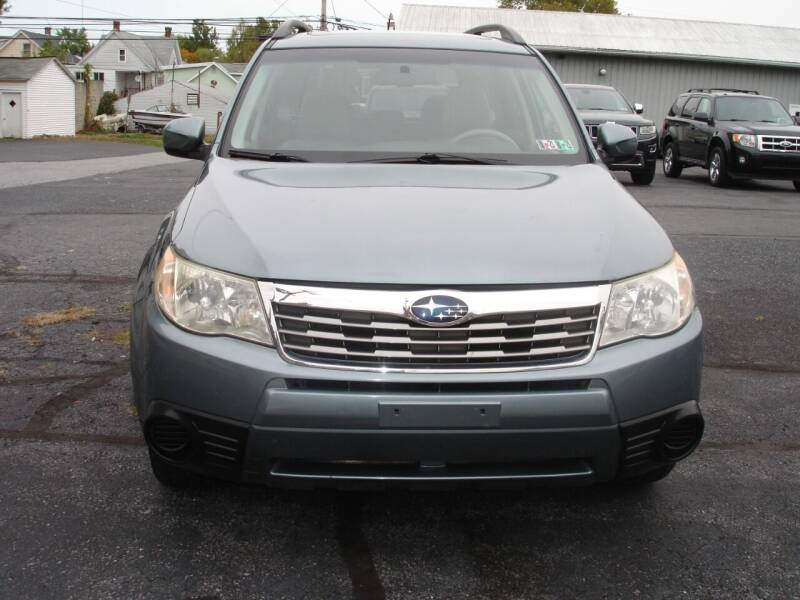 2010 Subaru Forester for sale at Pete's Bridge Street Motors in New Cumberland PA