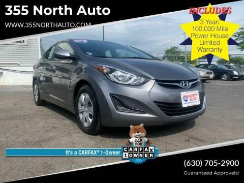 2016 Hyundai Elantra for sale at 355 North Auto in Lombard IL