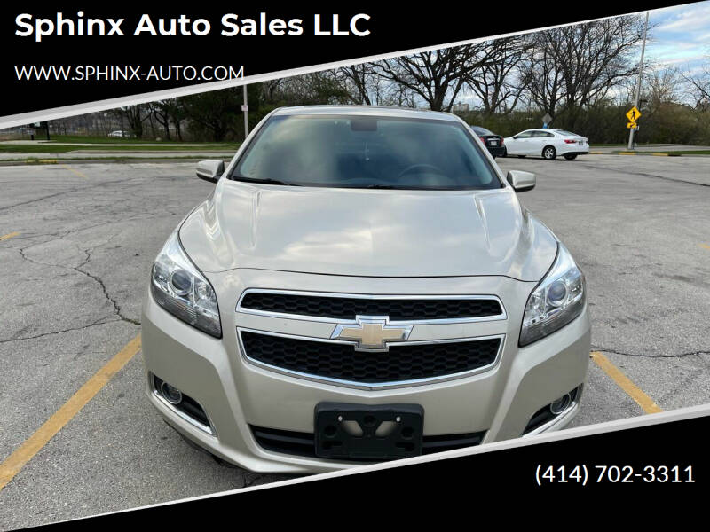2013 Chevrolet Malibu for sale at Sphinx Auto Sales LLC in Milwaukee WI