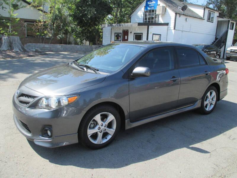 2011 Toyota Corolla for sale at Summit Auto Sales in Reno NV
