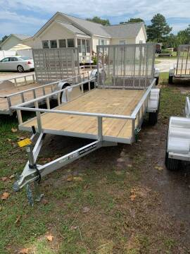 2020 New Carry-On 6x12 GW Alum Utility Trailer for sale at Tripp Auto & Cycle Sales Inc in Grimesland NC