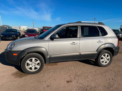 2005 Hyundai Tucson for sale at PYRAMID MOTORS - Fountain Lot in Fountain CO