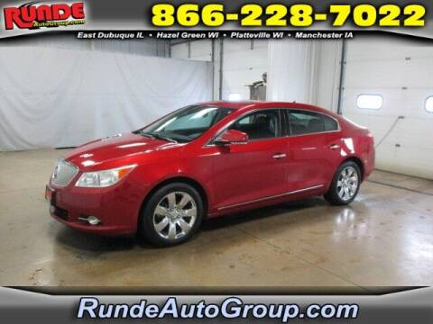 2012 Buick LaCrosse for sale at Runde Chevrolet in East Dubuque IL