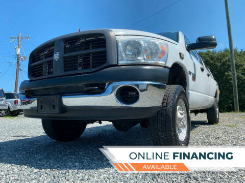 2007 Dodge Ram Pickup 2500 for sale at Prime One Inc in Walkertown NC