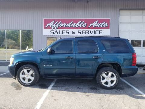 2007 Chevrolet Tahoe for sale at Affordable Auto Sales & Service in Berkeley Springs WV