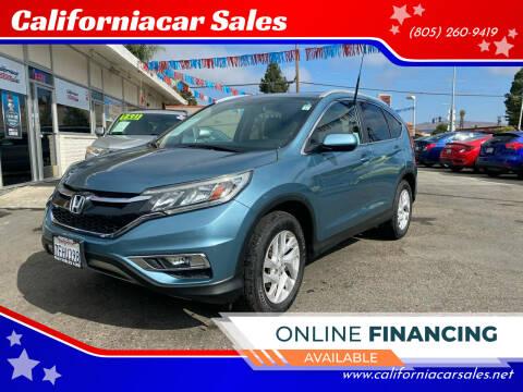 2015 Honda CR-V for sale at Californiacar Sales in Santa Maria CA
