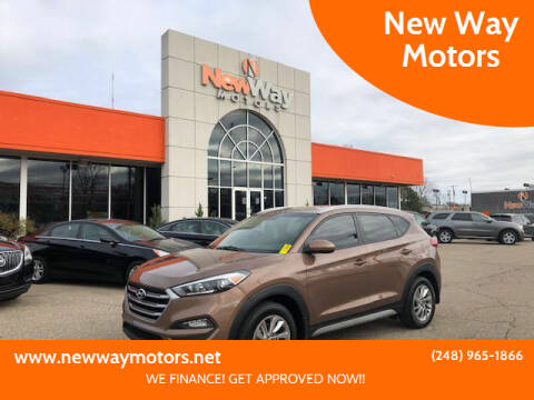 2017 Hyundai Tucson for sale at New Way Motors in Ferndale MI