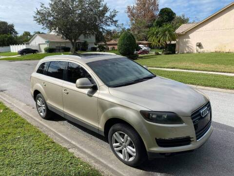 2009 Audi Q7 for sale at Low Price Auto Sales LLC in Palm Harbor FL
