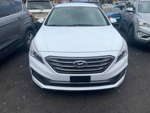 2016 Hyundai Sonata for sale at Park Avenue Auto Lot Inc in Linden NJ