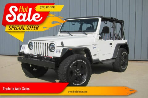 1997 Jeep Wrangler for sale at Trade In Auto Sales in Van Nuys CA