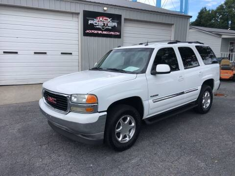 2005 GMC Yukon for sale at Jack Foster Used Cars LLC in Honea Path SC