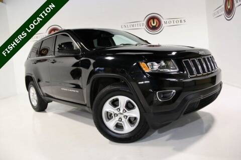 2016 Jeep Grand Cherokee for sale at Unlimited Motors in Fishers IN