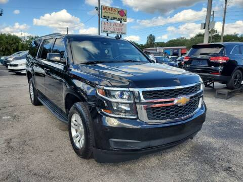 2017 Chevrolet Suburban for sale at Mars auto trade llc in Kissimmee FL