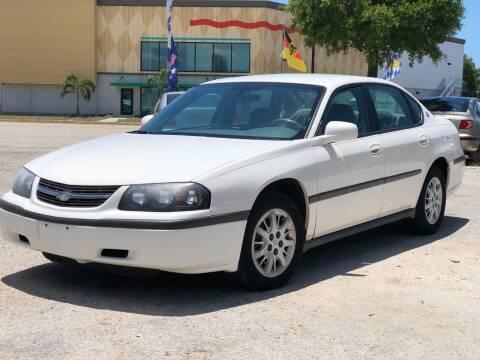 2005 Chevrolet Impala for sale at Pro Cars Of Sarasota Inc in Sarasota FL