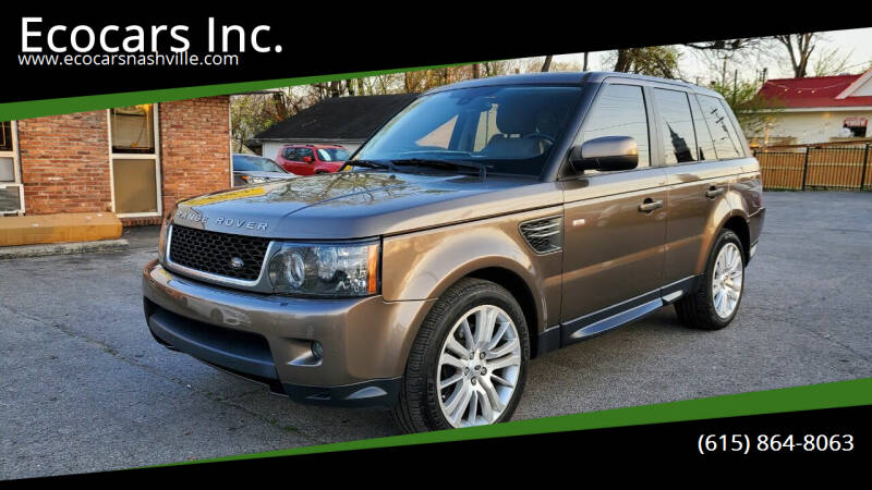 2011 Land Rover Range Rover Sport for sale at Ecocars Inc. in Nashville TN