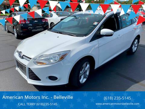 2013 Ford Focus for sale at American Motors Inc. - Belleville in Belleville IL