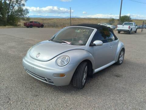 2003 Volkswagen New Beetle Convertible for sale at PYRAMID MOTORS - Pueblo Lot in Pueblo CO