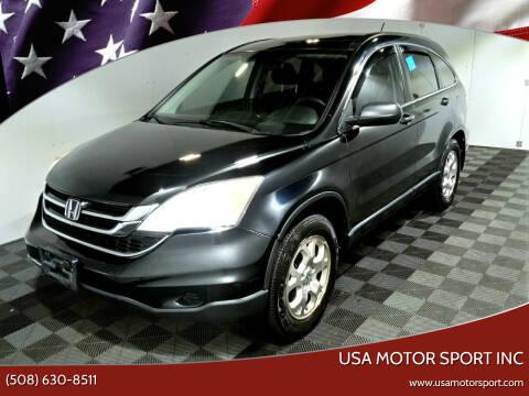 2011 Honda CR-V for sale at USA Motor Sport inc in Marlborough MA
