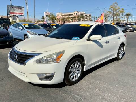 2013 Nissan Altima for sale at Charlie Cheap Car in Las Vegas NV