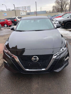 2020 Nissan Altima for sale at Nice Cars Auto Inc in Minneapolis MN