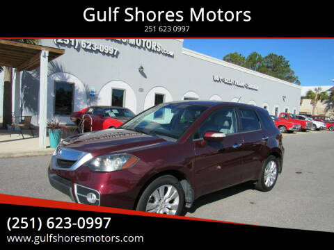 2011 Acura RDX for sale at Gulf Shores Motors in Gulf Shores AL