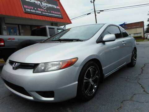 2006 Honda Civic for sale at Super Sports & Imports in Jonesville NC