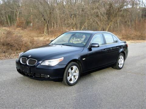 2006 BMW 5 Series for sale at The Car Vault in Holliston MA
