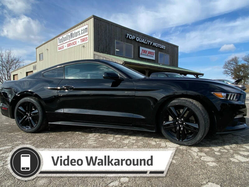 2017 Ford Mustang for sale at Top Quality Motors & Tire Pros in Ashland MO