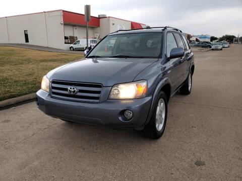2005 Toyota Highlander for sale at Image Auto Sales in Dallas TX
