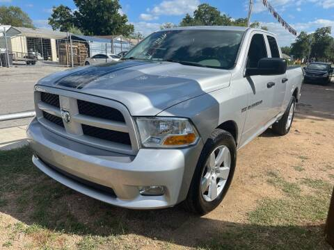 2012 RAM Ram Pickup 1500 for sale at S & J Auto Group in San Antonio TX