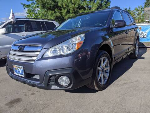 2014 Subaru Outback for sale at M AND S CAR SALES LLC in Independence OR
