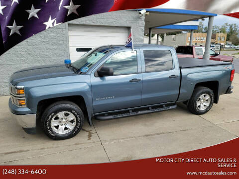 2014 Chevrolet Silverado 1500 for sale at Motor City Direct Auto Sales & Service in Pontiac MI