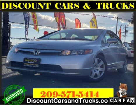 2006 Honda Civic for sale at Discount Cars & Trucks in Modesto CA
