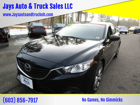 2016 Mazda MAZDA6 for sale at Jays Auto & Truck Sales LLC in Loudon NH