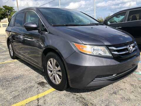 2014 Honda Odyssey for sale at Trans Copacabana Auto Sales in Hollywood FL