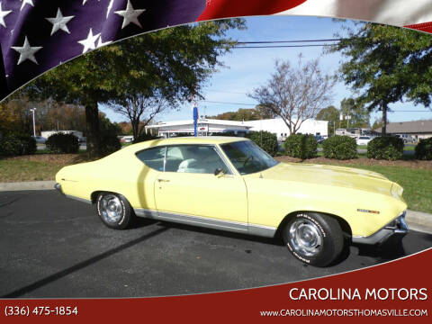 1969 Chevrolet Malibu for sale at CAROLINA MOTORS - Carolina Classics & More-Thomasville in Thomasville NC