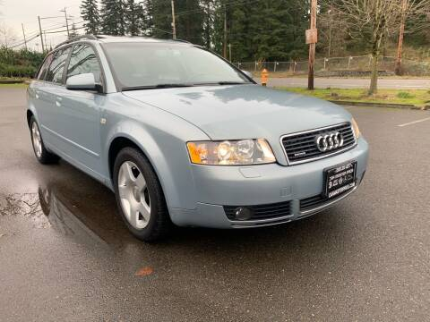 2004 Audi A4 for sale at CAR MASTER PROS AUTO SALES in Lynnwood WA