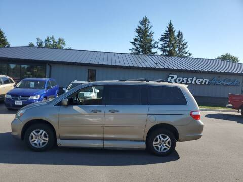 2006 Honda Odyssey for sale at ROSSTEN AUTO SALES in Grand Forks ND