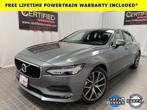 2018 Volvo S90 for sale at CERTIFIED AUTOPLEX INC in Dallas TX