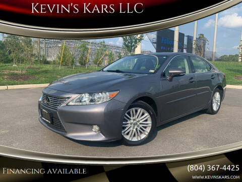 2013 Lexus ES 350 for sale at Kevin's Kars LLC in Richmond VA