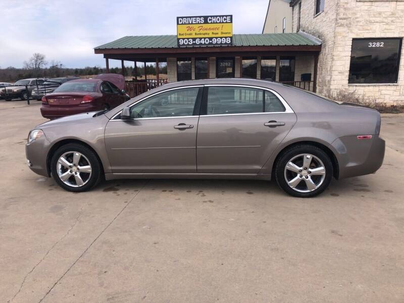 2010 Chevrolet Malibu for sale at Driver's Choice in Sherman TX